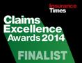 UK claims excellence awards 2014 finalist